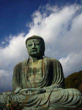 The big Buddha at Kamakura