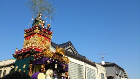 Photo taken when we visited Kawagoe Festival in Oct 2014!