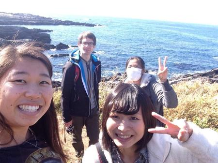 Exploring the shore of Jogashima