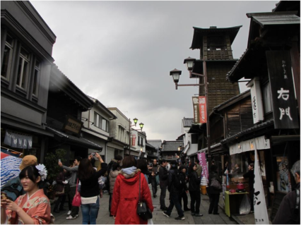 Kurazukuri Street and the Bell Tower