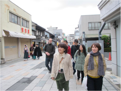 Exploring the street of Kurazukuri
