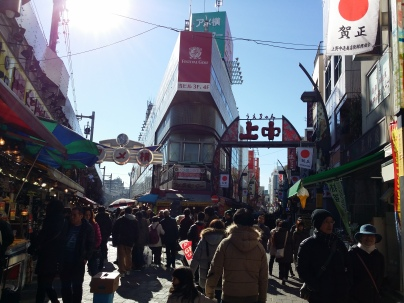 A vast difference from Nippori, this area is bustling with activity! The maze of shops should be able to keep the shopper in you entertained for an hour or two!
