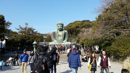 Koutokuin, to visit the Big Buddha! Nearest Station is Hase Station, Enoden Line.