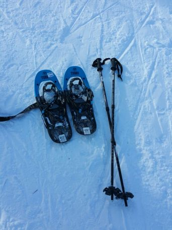 Snowshoe equipment. Checked.